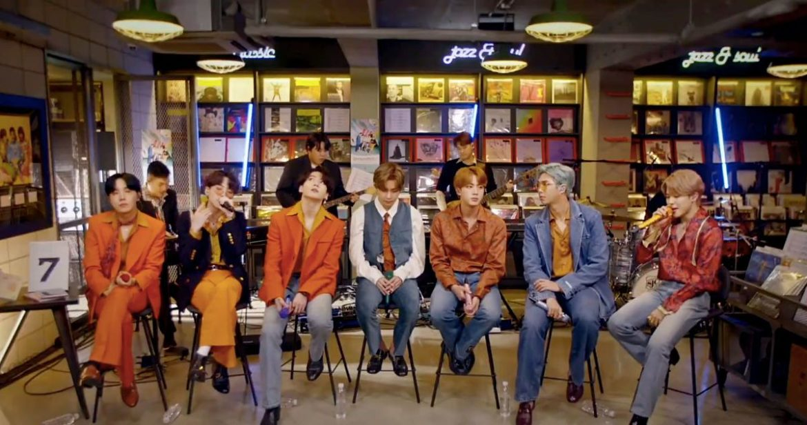 BTS Bring Disco Themed Threads To Intimate Tiny Desk Concert