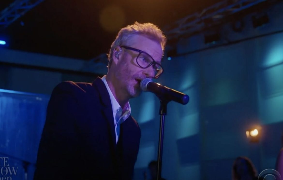 Watch The National's Matt Berninger play 'One More Second' on 'The Late Show'