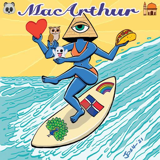 MacArthur Releases New Single 'Quarantine Text Wars'